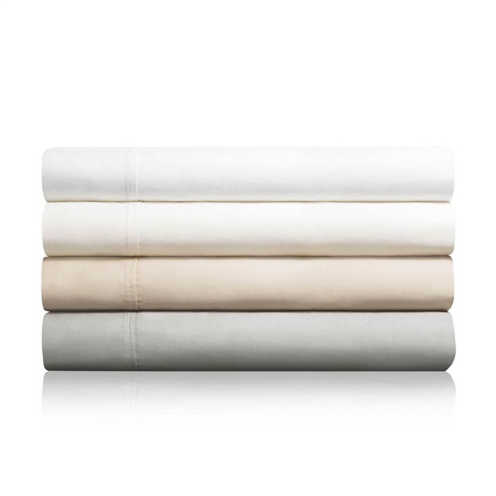 600 TC Cotton Blend - Queen Ivory