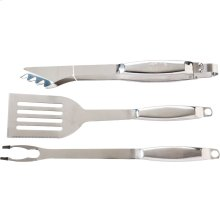 3-Piece Grilling Tool Set