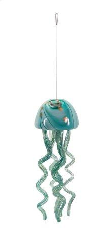 Jellyfish Small Glass Windchime