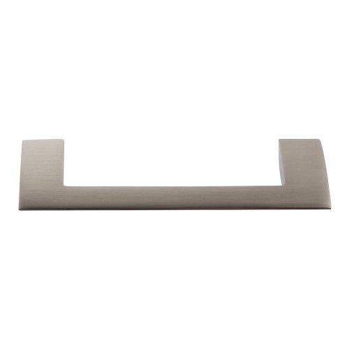 Angled Drop Pull 3 3/4 Inch (c-c) - Brushed Nickel