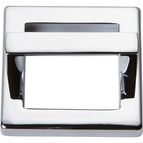 Tableau Square Base and Top 1 13/16 Inch - Polished Chrome
