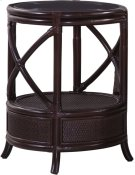 Santiago Round Chairside Table Product Image