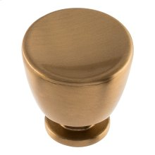 Conga Knob 1 1/4 inch - Warm Brass