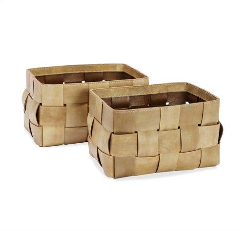 Perrin Baskets - Tan