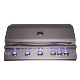 "40"" Premier Drop-In Grill w/ LED Lights - RJC40AL - Propane Gas"