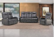 Easy Living Swiss 3 Piece Reclining Living Room Set with USB Product Image