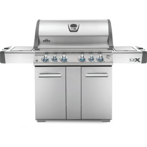 Napoleon GrillsLEX 605 RSBI Side Burner, Infrared Bottom & Rear Burners , Stainless Steel , Natural Gas