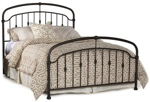 Pearson Full Bed Set In Oiled Bronze Metal