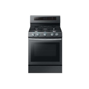 Samsung Appliances5.8 cu. ft. Freestanding Gas Range with True Convection in Black Stainless Steel