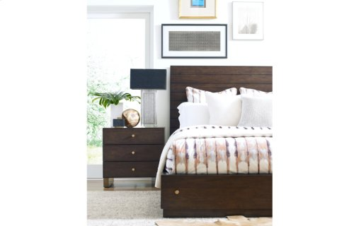 Austin by Rachael Ray Panel Bed w/ Storage Ca. King, 6/0