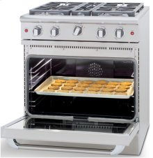 "30"" four Sealed Burner, all gas manual clean range, Liquid Propane"