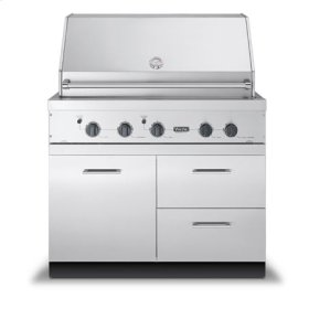 """41"""" W x 30"""" D Grill Base - VQBO (41"""" wide - Grill Base with 2 Drawers; 1 Door)"""