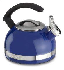 KitchenAid 2.0-Quart Kettle with C Handle and Trim Band - Doulton Blue