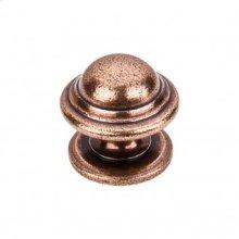 Empress Knob 1 3/8 Inch - Old English Copper