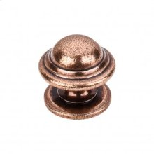 Empress Knob 1 3/8 Inch - Old English Copper