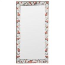 Corinthian Club Upholstered Floor Mirror 9404-MI