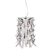 Fission Ceiling Lamp Chrome