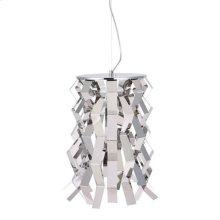 Fission Ceiling Lamp Chrome