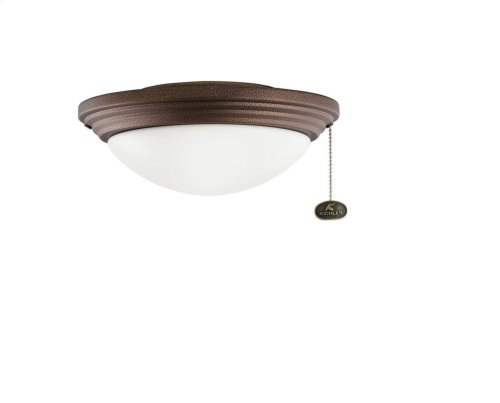"""Outdoor Light Kit 11"""" CFL Weathered Copper"""