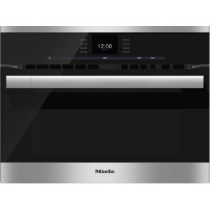 Miele24 Inch Speed Oven with combi-modes and Roast probe for precise-temperature cooking.
