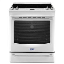 White Ice Maytag® 6.4 cu. ft. Front Control Electric Range with the FIT System