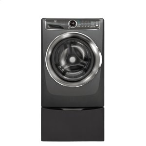 Front Load Perfect Steam Washer with LuxCare® Wash and SmartBoost® - 4.4 Cu.Ft. - TITANIUM