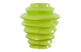 Spiral Bowl Green, Tall
