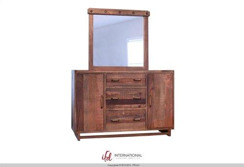 3 Drawer, 2 door Dresser