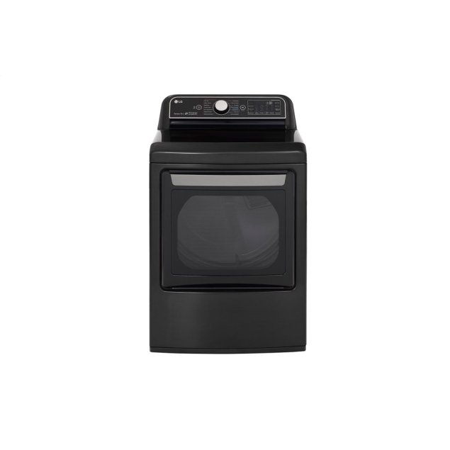 LG Appliances 7.3 cu.ft. Smart wi-fi Enabled Gas Dryer with TurboSteam™