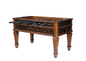 Elegant Scroll Foosball Table Product Image