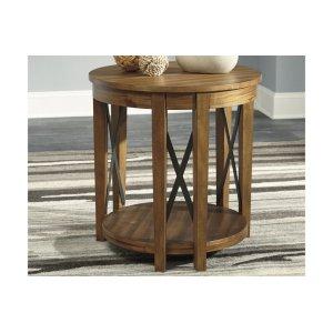 Ashley FurnitureSIGNATURE DESIGN BY ASHLERound End Table