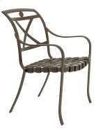 Palladian Strap Stacking Dining Chair - X-Back Product Image