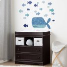 Little Whale Wall Decals - Blue Product Image