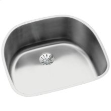"""Elkay Lustertone Classic Stainless Steel 23-5/8"""" x 21-1/4"""" x 10"""", Single Bowl Undermount Sink with Perfect Drain"""