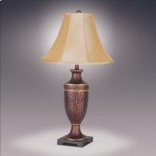 Hammered Urm Lamp Wi