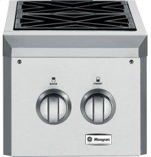 GE Monogram® Dual Burner Outdoor Cooktop (Liquid Propane)