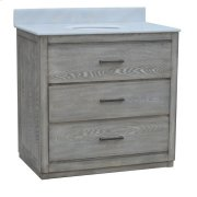 "Richmond 2 Drawer 36"" Vanity Sink Product Image"