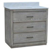 """Richmond 2 Drawer 36"""" Vanity Sink"""