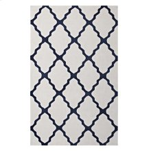 Marja Moroccan Trellis 8x10 Area Rug in Ivory and Navy