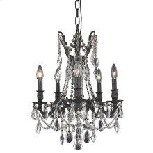 8205 Rosalia Collection Hanging Fixture Dark Bronze Finish