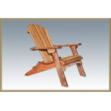 Montana Cedar Adirondack Chair with Exterior Stain