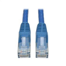 Cat6 Gigabit Snagless Molded Patch Cable (RJ45 M/M) - Blue, 3-ft. - 50 Piece Bulk Pack