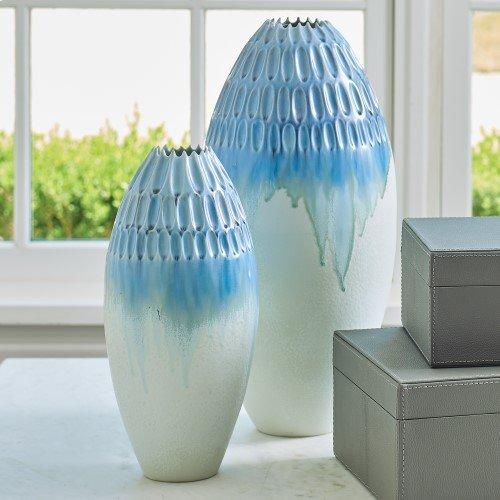 Cut Carved Vase-Cloud-Sm