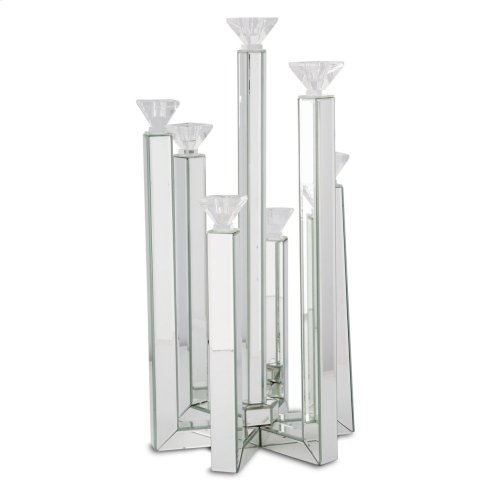 Mirrored Candle Arrangement