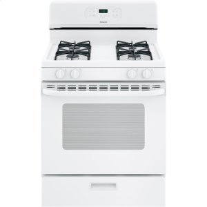 "HotpointHotpoint® 30"" Free-Standing Standard Clean Gas Range"