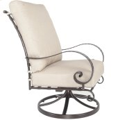 High-back Swivel Rocker Lounge Chair
