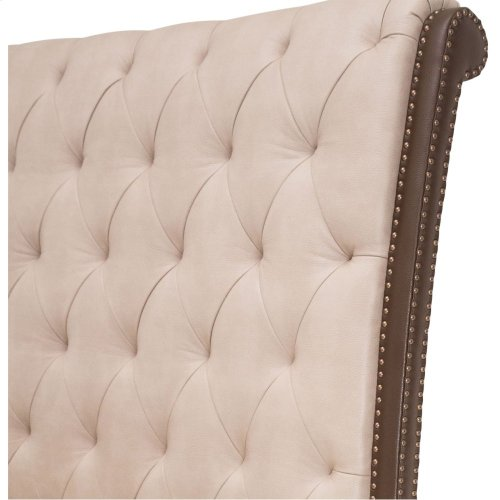 Queen Upholstered Bed (4 Pc)