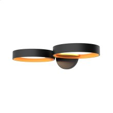 Light Guide Ring Double LED Sconce
