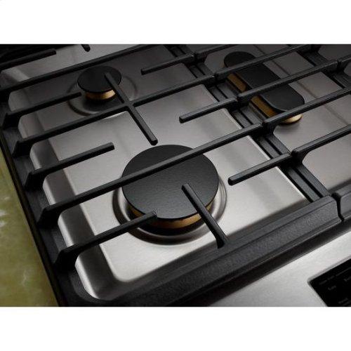 "JennAir® Euro-Style 30"" Dual -Fuel Range - Stainless Steel"