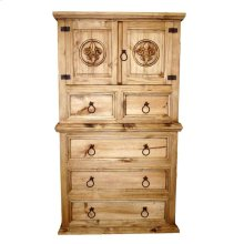 Mansion Chest W/ Fleur-de-lis